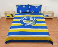 Parramatta Eels 2016 NRL Quilt Cover Set 'Select Size' Single Double Queen