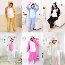 NEW Kigurumi Unisex Adult Kids Pajamas Cosplay Costume Animal Onesie Sleepwear