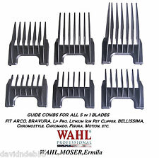 WAHL ATTACHMENT GUIDE COMB For ChromStyle,BRAVURA 5 in 1 Adjustable Blade 5in1