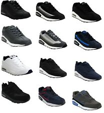 MENS RUNNING JOGGING AIR TECH SHOCK ABSORBING GYM SPORTS TRAINERS SHOES UK 7-12