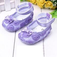 Baby Shoes Girl Kids Rose Flower Shoes Infant Kids Cotton Crib Toddler Shoes A32