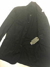 "ALL SAINTS MEN'S INK BLUE ""FUEL"" BLAZER PEA COAT JACKET XS S M L XL XXL NEW TAGS"