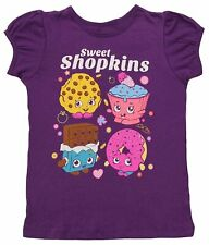 Toddler Girls Collectible Moose Toys Shopkins Sweet Treat Purple Toddler T-Shirt