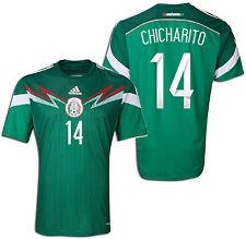 ADIDAS CHICHARITO MEXICO HOME JERSEY FIFA WORLD CUP BRAZIL 2014.