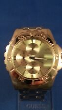Guess Mens Luxury Dress/Sport Watch, Stainless Steel, 5 ATM 48MM FREE SHIPPING