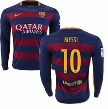 NIKE FC BARCELONA LIONEL MESSI LONG SLEEVE HOME JERSEY 2015/16