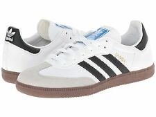 ADIDAS ® SAMBA WHITE BLACK GUM *AUTHENTIC *ORIGINAL & NEW IN BOX