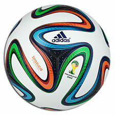 ADIDAS BRAZUCA FIFA WORLD CUP BRAZIL 2014 MATCH GAME BALL SIZE 5.