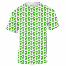 St Patricks Day Shamrock Three Leaf Clover Paddys Day Funny Irish Mens T Shirt