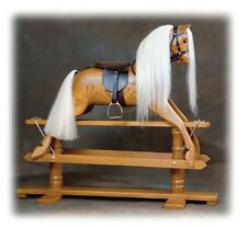 NEW  Vintage  Antique Rocking Horse beautiful