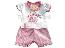 Premature Baby Girls 2 Piece Outfit Shorts & Tshirt Set 3-5 lbs or 5-8lbs Cotton