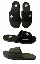 Boys Nubuck Hook and Loop Top Mules / Open Toe Sandals ~ UK 13 1 2 3 4 5