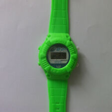 peculiar Fashion Students Kids Watch Rubber Band Digital LED watch Green