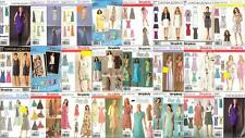 OOP Simplicity Sewing Pattern Misses Spring Summer Dresses Sizes 4 - 16 You Pick