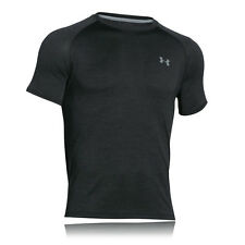 Under Armour Tech Mens Black Short Sleeve Running Sports T Shirt Tee Top