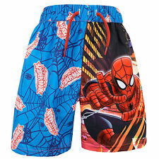 Spiderman Swim Shorts | Boys Marvel Spider-man Swimming Trunks | Boys Swimwear