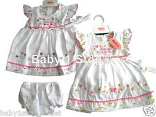 Baby Girls Dress & Pants & Headband Pretty Butterfly 6-12 12-18 18-24 Months