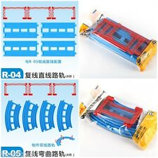 JAPAN TOMY PLARAIL TRACKMASTER THOMAS BATTERY TRAIN DOUBLE RAIL PART R-04/R-05
