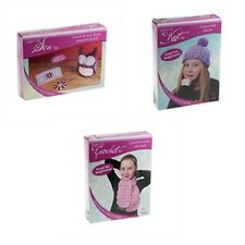 Craft Factory Learn To Sew, Knit or Crochet Complete Beginners Kits