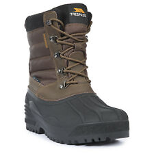 Trespass Negev Mens Lace Up Snow Boots Walking Casual Ankle Shoes