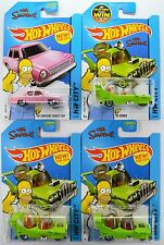 2014 & 2015 Hot Wheels: Simpsons FAMILY CAR & THE HOMER - PICK Your CHOICE - New
