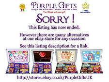 Personalised With Love Chocolate Selection Gift Box Hamper My Heart Bursts