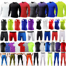 Compression Base Layer Body Armour Thermal Shorts Pants/Tank Top/T-shirts Skins