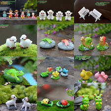 Miniature Fairy Dollhouse Landscape Garden Terrarium Figurine Bonsai Decoration