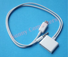 Micro USB to 30Pin 30P Dock Cable Adapter Cord With Audio For iPhone 6S+ 6S 6 5