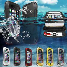 """Shock/Water Proof Dust-proof Metal Glass Protector Cover Case for iPhone 6 4.7"""""""