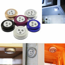 HOT 3 LED Battery Powered Stick Tap Touch Light Lamp Hot Sale