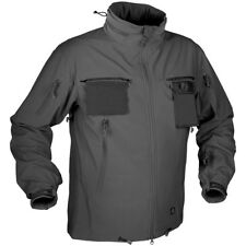 Helikon Cougar Tactical Soft Shell Mens Windblocker Police Jacket Shadow Grey