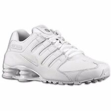 NIKE SHOX NZ 2016 WHITE MENS SHOES US 14 &15 **$29.95 AUD POST WORLDWIDE