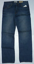 Mens AEROPOSTALE Essex Straight Leg True Blue Wash Jeans NWT #5045