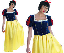 Ladies Snow White Fancy Dress Costume Sexy Fairytale Princess Outfit UK 8-30