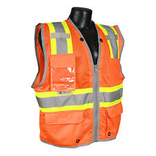 RADIANS SV6HO SAFETY VEST - Hi-Viz Class 2 Heavy Duty Two Tone Surveyor Vest