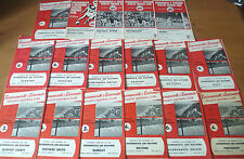 1960-70 - Bournemouth & Boscombe, Home Programmes