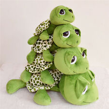 Baby Toy Big Eyes Green Tortoise Sea Turtle Stuffed Plush Doll Animal Toy Gift A