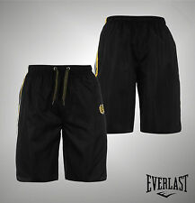 New Mens Branded Everlast Lightweight Durable Drawstring Gym Shorts Size S-XXXL