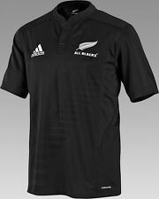 ADIDAS ALL BLACKS RUGBY HOME JERSEY 2009/10 NEW ZEALAND.