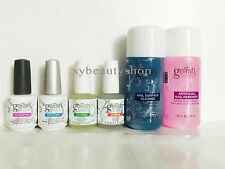 GELISH Harmony: Foundation Base,Top Coat,Bond,Cuticle Oil,Cleanser,Remover