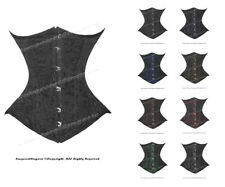 26 Double Steel Boned Waist Training Brocade Underbust Corset #450(BRO)