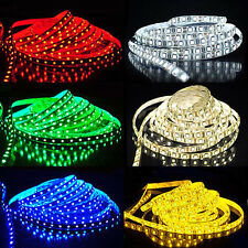 DC12V/24V 5M 300/600 LEDs SMD 3528 5050 5630 Waterproof Flexible LED Strip Light