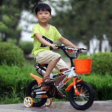 New Kids Boy Girl Balance Bike Adjustable Road Bicycle Rider Training Wheels