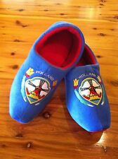 Dutch Clog Slippers / Hollandse slippers BLUE TULIP   FREE GIFT HUGE WINTER SALE