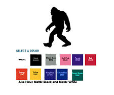 Bigfoot Sasquatch Yeti Diecut Sticker Self Adhesive Vinyl