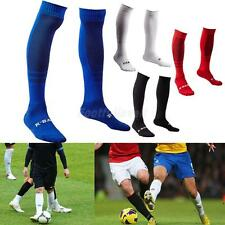 1 Pair Adult's Towel Bottom Long Socks for Football Soccer Rugby Sports