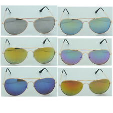DG Men Women Designer Fashion Eyewear Sunglasses Vintage Aviator Mirrored 1009