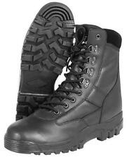 MIL-COM PATROL BOOTS ALL LEATHER TACTICAL COMBAT ARMY SECURITY CADET MENS