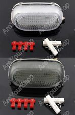 New LED Tail light with integrated Turn Signals For Kawasaki ZZR600 ZZR250 2004